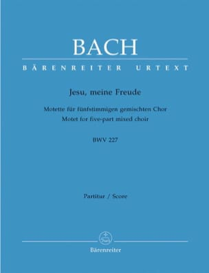 BACH - Motet No. 3. Jesu, Meine Freude BWV 227 - Sheet Music - di-arezzo.co.uk