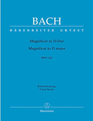 BACH - Magnificat In D Major. BWV 243a - Sheet Music - di-arezzo.com