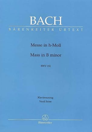 BACH - Mass in Si - Sheet Music - di-arezzo.co.uk