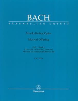 BACH - Ricercar Aus Musikalisches Opfer. Heft 1 C-Moll - Sheet Music - di-arezzo.com