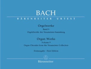 BACH - Orgelwerke. Band 9. Sold out - Sheet Music - di-arezzo.com