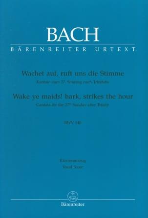 BACH - Cantate 140 Wachet Auf, Ruft Uns Die Stimme - Partitura - di-arezzo.es
