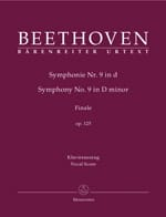 BEETHOVEN - An Die Freude - Sheet Music - di-arezzo.co.uk