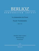 BERLIOZ - The Damnation of Faust Opus 24 - Sheet Music - di-arezzo.co.uk