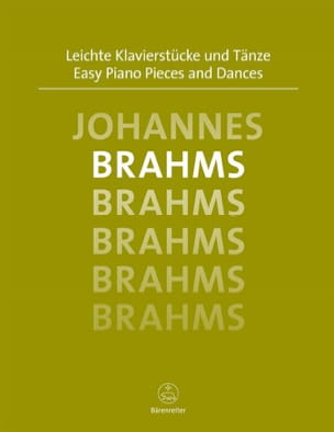 BRAHMS - Easy Piano Pieces and Dances - Partition - di-arezzo.fr