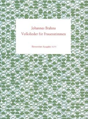 Volkslieder für Frauenstimmen 1859/60. Erstausgabe BRAHMS laflutedepan