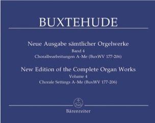 Dietrich Buxtehude - The organ work, Volume 4 - Sheet Music - di-arezzo.com