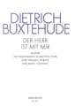 Dietrich Buxtehude - Der Herr Ist Mir Mit Buxwv 15. Choir Party - Sheet Music - di-arezzo.co.uk