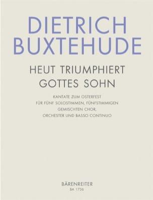 Heut triumphieret Gottes Sohn - Dietrich Buxtehude - laflutedepan.com