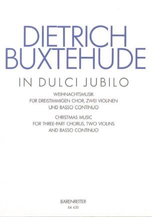 In Dulci Jubilo Buxwv 52 - Dietrich Buxtehude - laflutedepan.com