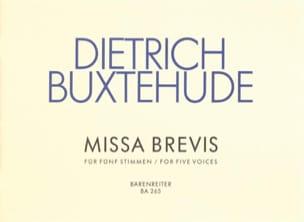 Missa Brevis Kyrie Und Gloria - Dietrich Buxtehude - laflutedepan.com