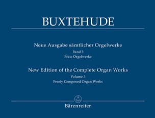 Dietrich Buxtehude - The organ work, Volume 3 - Sheet Music - di-arezzo.co.uk