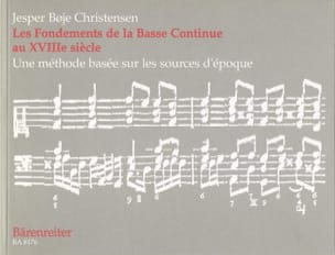 Christensen - The Fundamentals Of Continuous Bass In The 18th Century - Sheet Music - di-arezzo.com