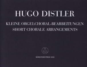 7 Kleine Orgelchoralbearbeitungen 1938 Op. 8-3 laflutedepan
