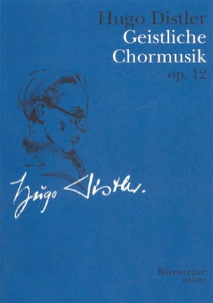 Geistliche Chormusik 1934-1942 Op. 12 Hugo Distler laflutedepan