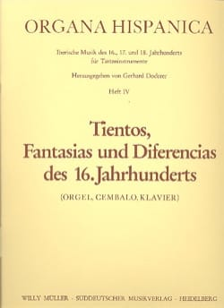 - 18 Tientos, Fantasias Und Diferencias of 16. Jahrhunderts Volume 4 - Sheet Music - di-arezzo.co.uk