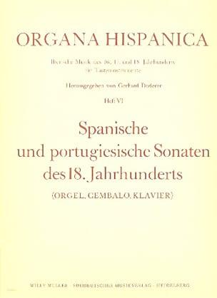 - 8 Spanische Und Portugisische Sonaten de 18. Jahrhunderts - Partitura - di-arezzo.es