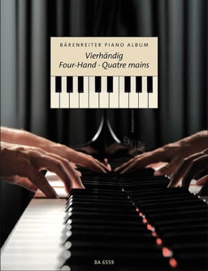 Bärenreiter Piano Album 4 Mains Partition Piano - laflutedepan