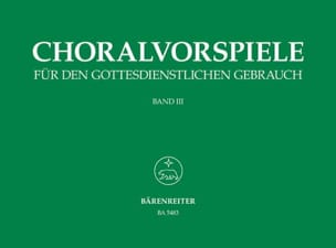 - Preludes of Chorals. Volume 3 - Sheet Music - di-arezzo.com
