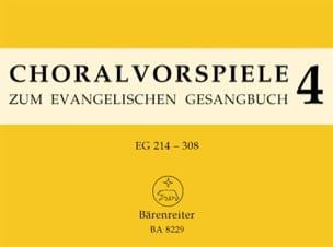- Préludes de Chorals. Volume 4 - Partition - di-arezzo.fr