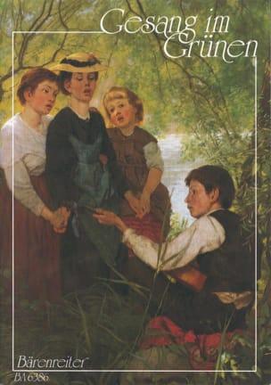 Gesang im Grünen Partition Chœur - laflutedepan