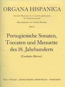 - 9 Portugiesische Sonaten, Toccaten y Menuette de 18. Jahrhunderts - Partitura - di-arezzo.es