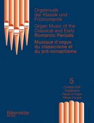 Fink - Oeuvres Classiques et Préromantiques - 5 - Partition - di-arezzo.fr