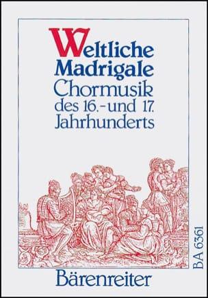 - Weltliche Madrigale - Partition - di-arezzo.fr