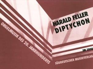 Harald Feller - Diptychon. (1985) - Partition - di-arezzo.fr