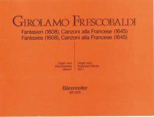 Girolamo Frescobaldi - Orgel Und Klavierwerke. Band 1 - Partition - di-arezzo.fr