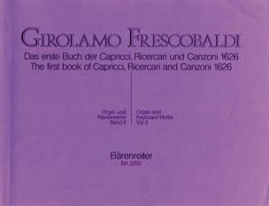 Girolamo Frescobaldi - Orgel Und Klavierwerke. Band 2 - Partition - di-arezzo.fr