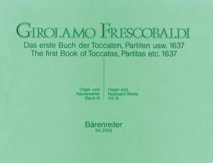 Girolamo Frescobaldi - Orgel Und Klavierwerke. Band 3 - Partition - di-arezzo.fr