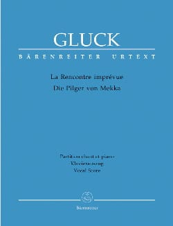 GLUCK - The Unexpected Encounter. the pilgrims of Mecca - Sheet Music - di-arezzo.com