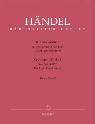 HAENDEL - Piano work Volume 1. - Sheet Music - di-arezzo.co.uk