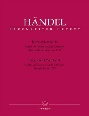 HAENDEL - Piano work Volume 2. - Sheet Music - di-arezzo.com