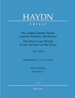 HAYDN - The 7 Last Words Of Christ In Cross Hob 20-2 - Sheet Music - di-arezzo.co.uk