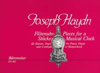Joseph Haydn - Flötenuhrstücke. Kompositionen für das Laufwerk (Flötenuhr) - Partition - di-arezzo.fr