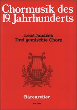 Leos Janacek - 3 Gemischte Chöre - Partition - di-arezzo.fr