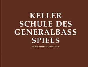 Hermann Keller - Schule of Generalbaßspiels - Sheet Music - di-arezzo.co.uk
