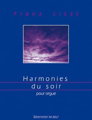 Franz Liszt - Harmonies du Soir - Partition - di-arezzo.fr