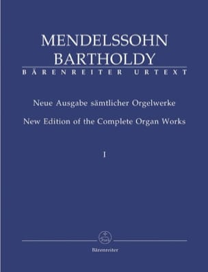 MENDELSSOHN - Organ Work Volume 1 - Sheet Music - di-arezzo.co.uk