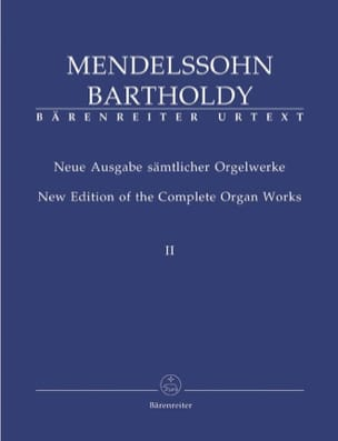 MENDELSSOHN - Oeuvre D'orgue Volume 2 - Partition - di-arezzo.fr
