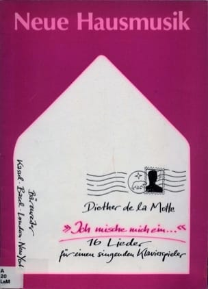 Diether de la Motte - Ich mische mich ein 1987 - Partition - di-arezzo.fr