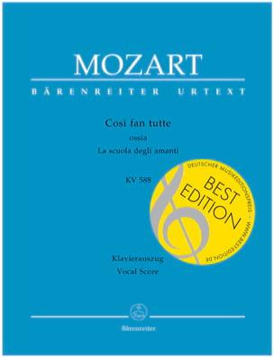 MOZART - Così Fan Tutte - Sheet Music - di-arezzo.co.uk