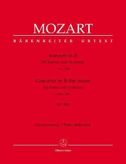 MOZART - Concerto Pour Piano N° 18 En Si Bémol Majeur K 456 - Partition - di-arezzo.fr