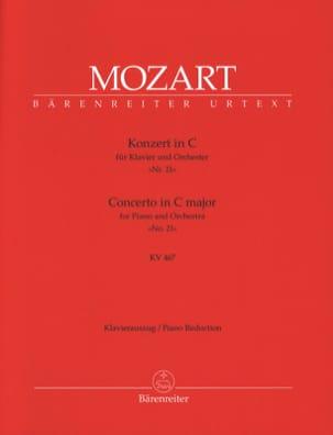 MOZART - Klavierkonzert Nr. 21 in C-Dur KV 467 - Noten - di-arezzo.de