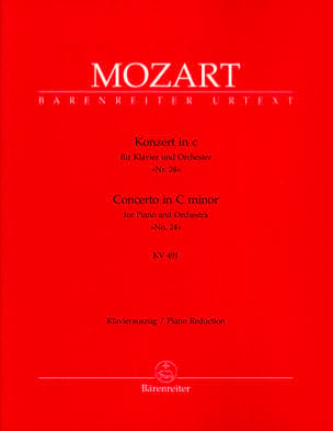 MOZART - Piano Concerto No. 24 In C Minor K 491 - Sheet Music - di-arezzo.com