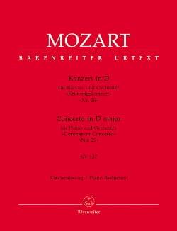 MOZART - Concerto Pour Piano N° 26 En Ré Majeur K 537. - Partition - di-arezzo.fr