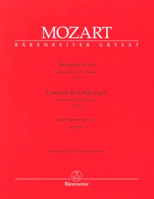 MOZART - Concerto Pour Piano N° 9 En Mi Bémol Majeur K 271 - Partition - di-arezzo.fr