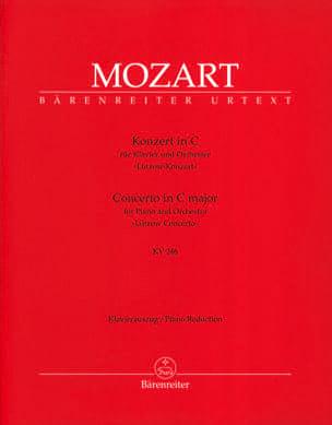 MOZART - Concerto Pour Piano N° 8 En Do Majeur K 246 - Partition - di-arezzo.fr